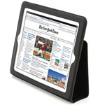 Чехол YooBao Lively Case для Apple iPad 2 (кож.зам, черный)